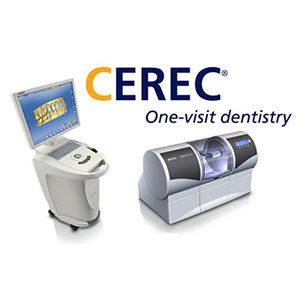 CEREC system and logo